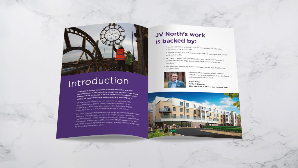 JV North prospectus spread