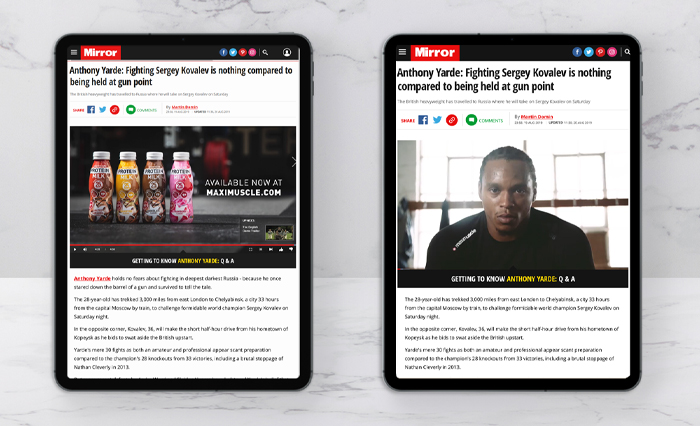 MAXIMUSCLE MIRROR ARTICLES