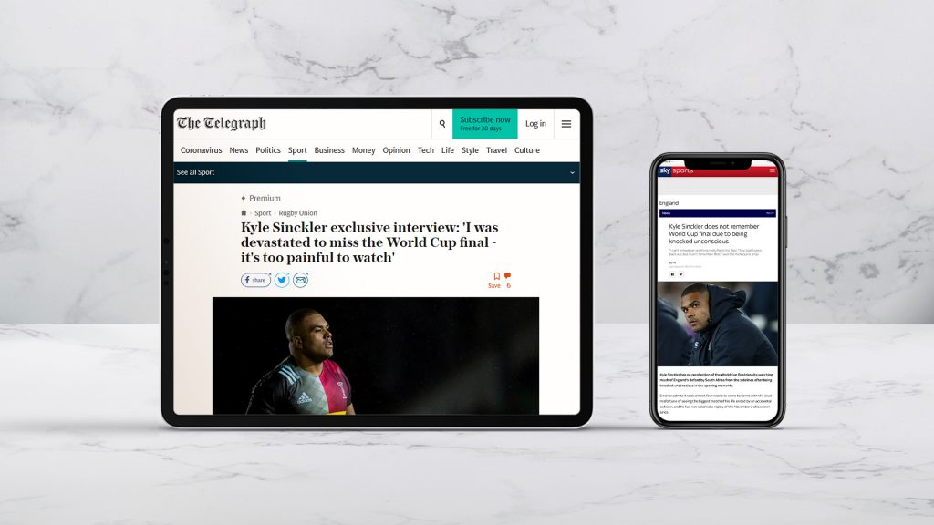 TELEGRAPH AND SKY ARTICLES